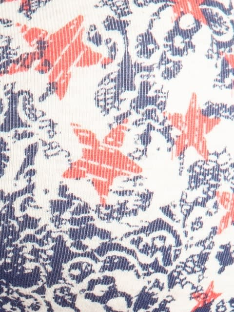 Cream Melange Print81 Padded Wire free Bra