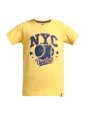 Corn Silk Printed Boys T-shirt