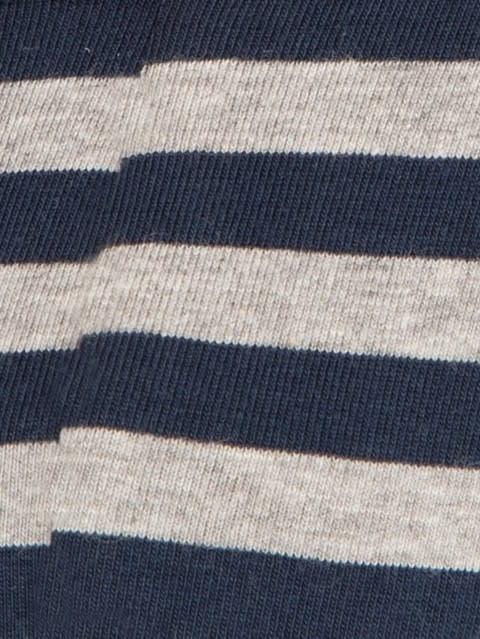 Navy & Grey Striped Yarn dyed Brief