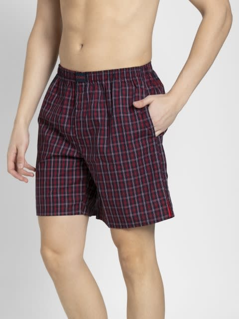 Assorted Checks Boxer Shorts