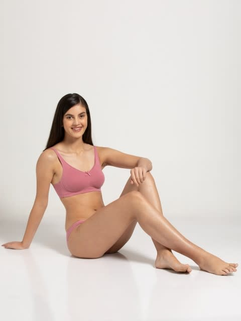 Heather Rose Moulded Cup Firm support Bra