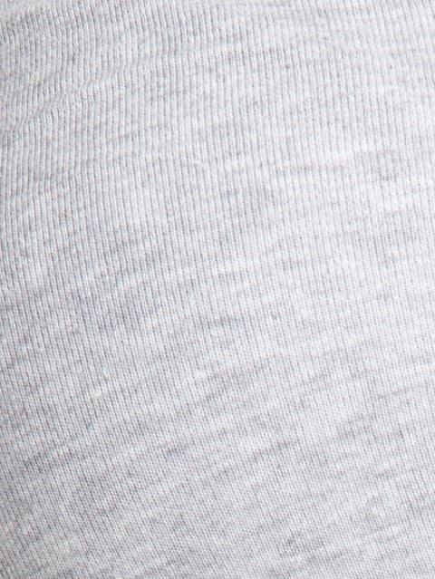 Light Grey Melange Moulded Cup Firm support Bra