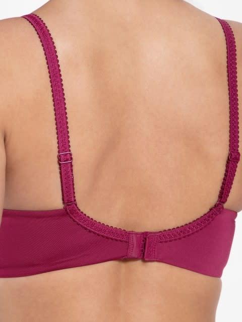 Pink Wine Non wired T-Shirt Bra