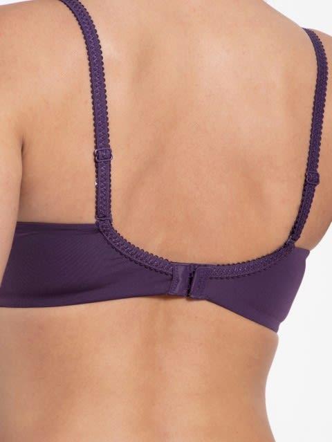 Purple Cosmos Non wired T-Shirt Bra