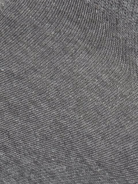 Mid Grey Melange & Assorted Neon Colors Men Low Show Socks