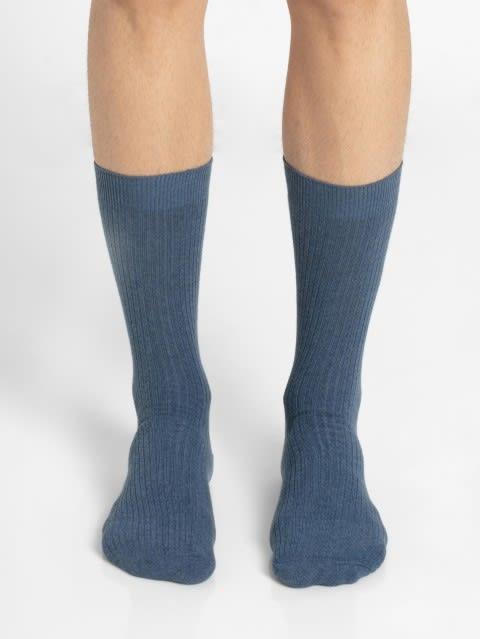 Denim Melange Men Casual Socks