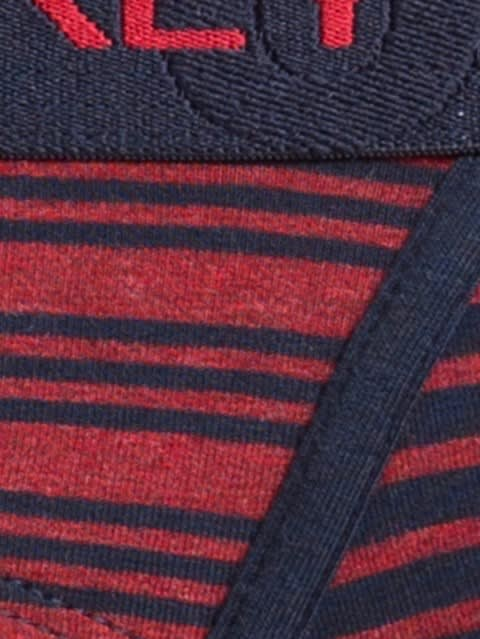 Navy & Red Stripes Yarn dyed Brief