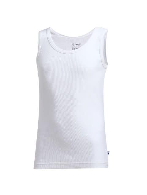 White Boys Vest Pack of 2