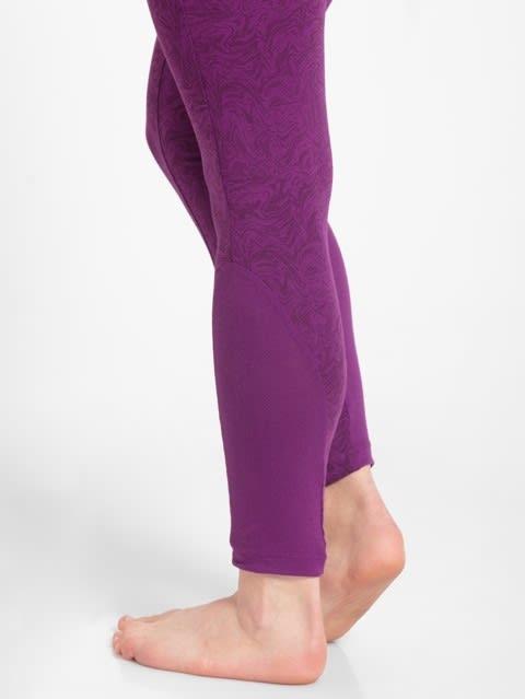 Purple Glory Printed Yoga Pant