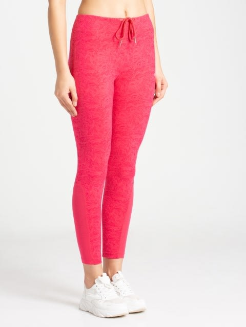 Ruby Printed Yoga Pant