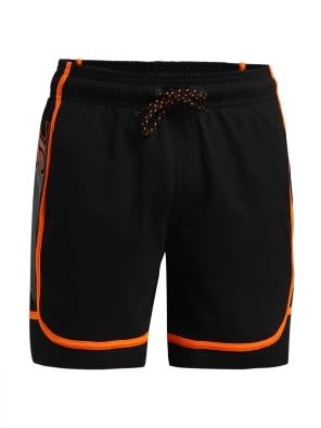 Black & Golden Poppy Boys Shorts