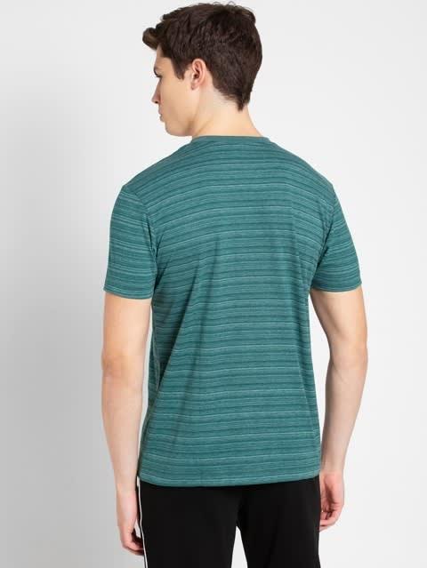 Pacific Green V-neck T-Shirt