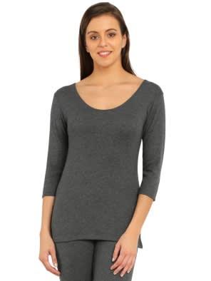 crazy price shop for original top fashion 3 quarter sleeve tops | Women Thermal Tops - Jockey