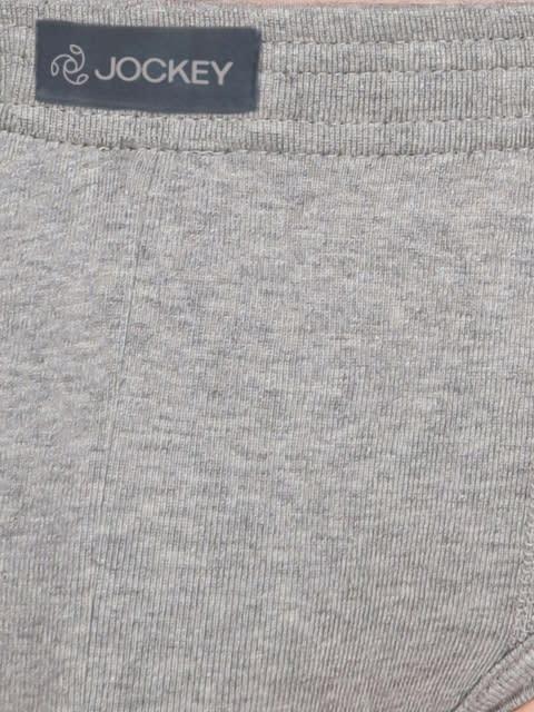 Grey Melange Contour Brief Pack of 2