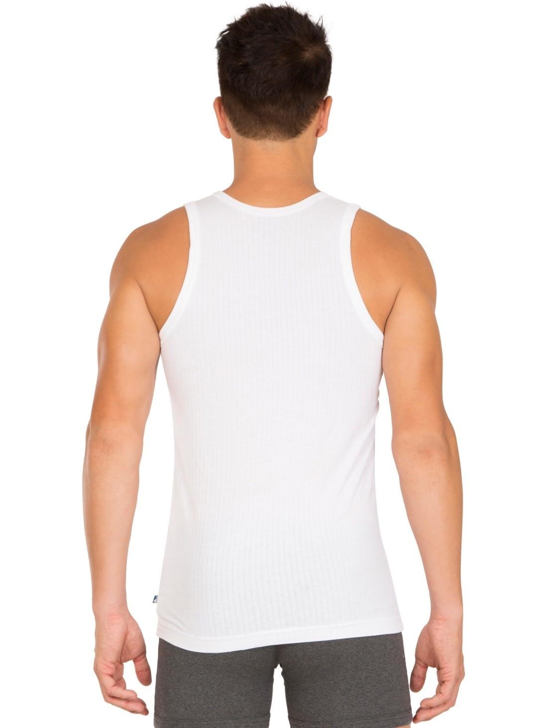 Jockey Men Innerwear Tops White Modern Vest