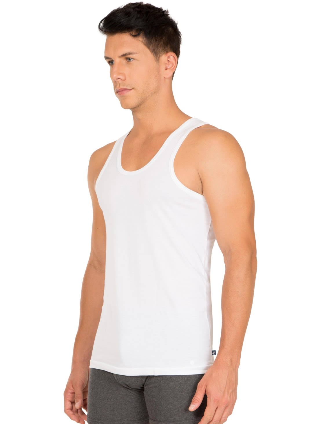 80995b9f Jockey Men Innerwear Tops | White Basic Undershirt Pack of 2