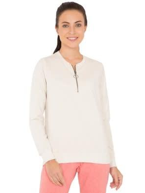 Cream Melange Sweatshirt