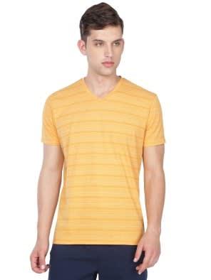 4a6c3db3552 Burnt Gold V-neck T-Shirt