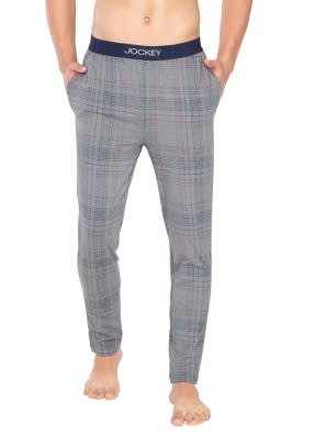 Mid Grey Melange Print09 Regular Fit Pyjama