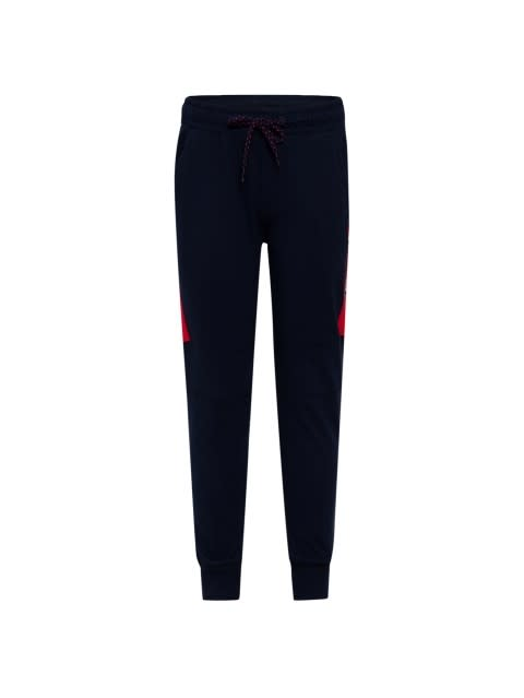 Navy & Team Red Track Pant